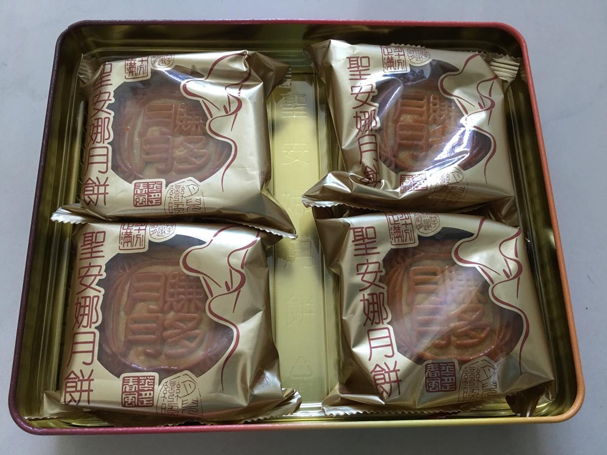 香港の中秋節で様々な月餅を試してみました
