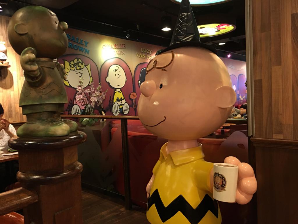 (移転しました)香港のチャーリーブラウンカフェは平日昼間のセットメニューがオススメです