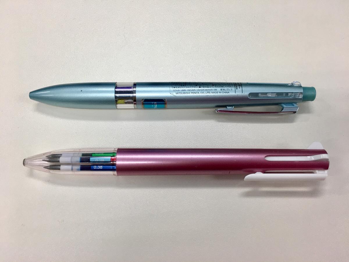 いつも2本持ち歩いているペン ~ スタイルフィット(STYLE FIT) 5色ホルダー&リフィル
