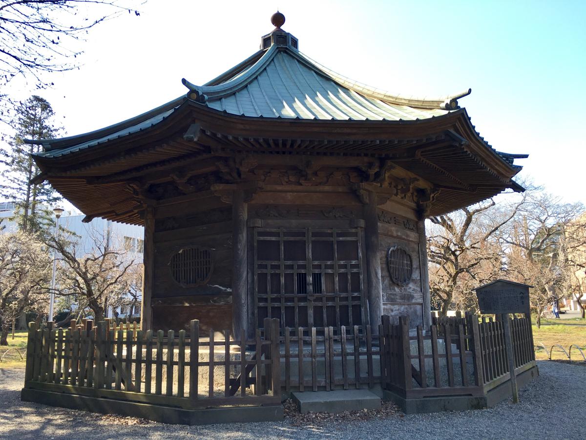 はじめての水戸観光 (6)弘道館の近辺を探索しました  水戸城跡・孔子廟・鹿島神社・八卦堂・学生警鐘