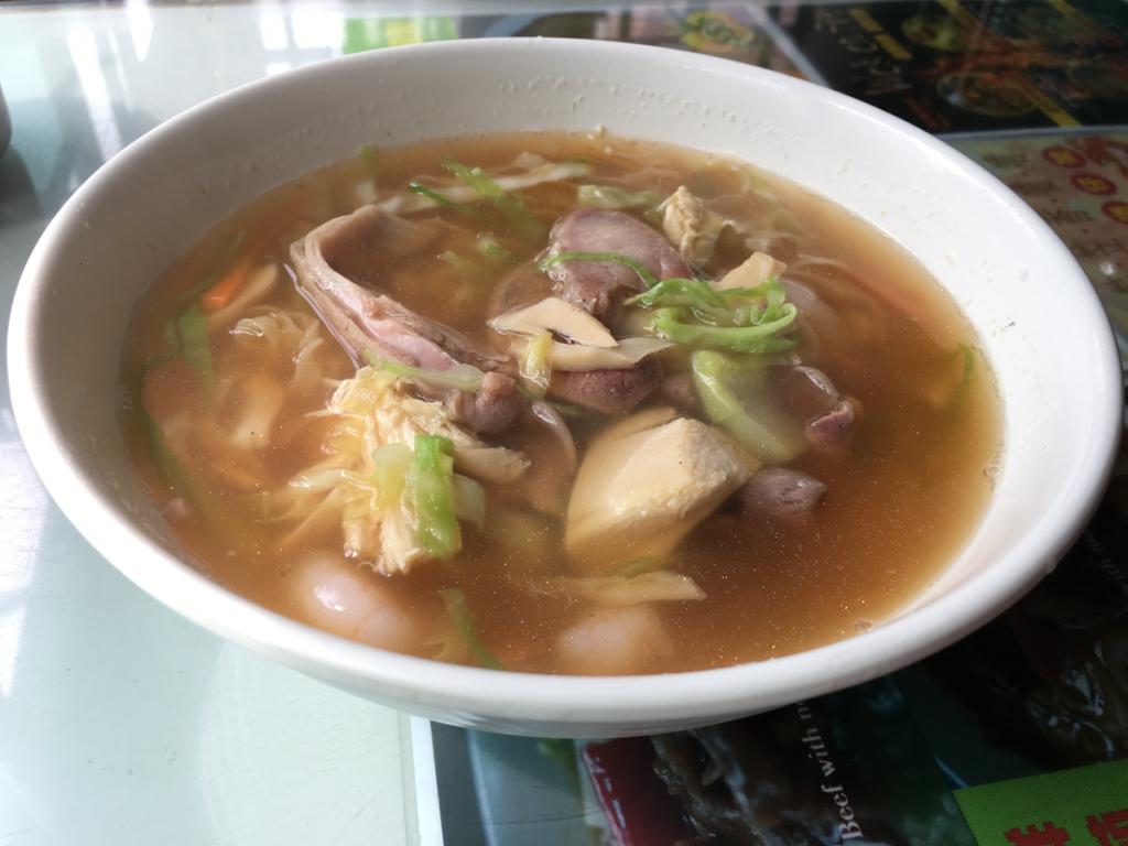 美都餐室@香港油麻地の「美都湯麺」はあっさりした麺を食べたい人にオススメです