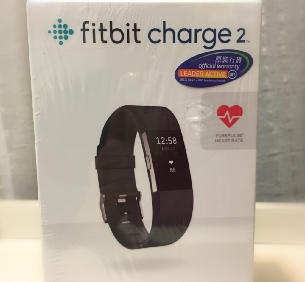 Fitbit Charge 2を使い始めました