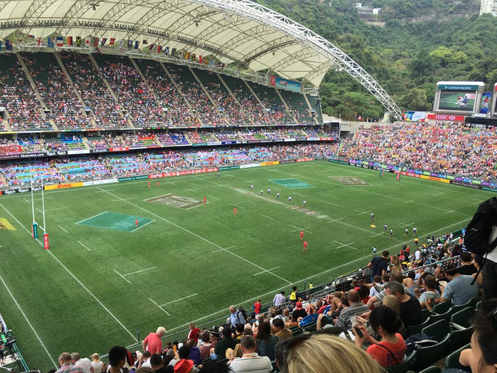 自分に合った席を選ぶことができます〜 香港セブンス試合観戦(3)