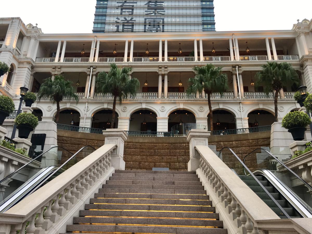 1881 Heritageは水上警察がお洒落なショッピングセンターになった施設です〜 香港歴史散歩@尖沙咀