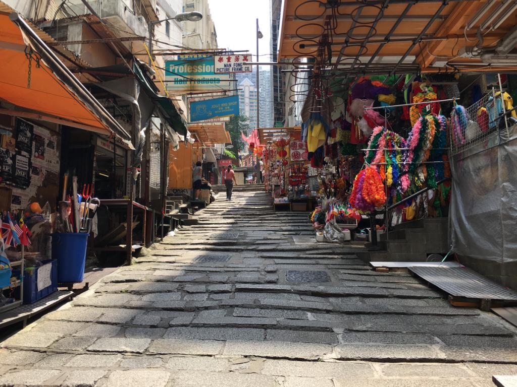 セントラルの街歩きをはじめました〜中環街市/羅富記/ポッティンガー・ストリート〜香港歴史散歩@中環(セントラル)