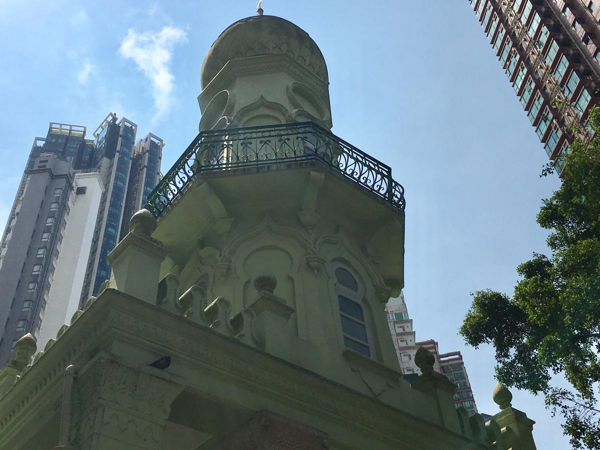 セントラルにあるモスクとシナゴーグ/Jamia Mosque/Ohel Leah Synagogue〜香港歴史散歩@中環(セントラル)