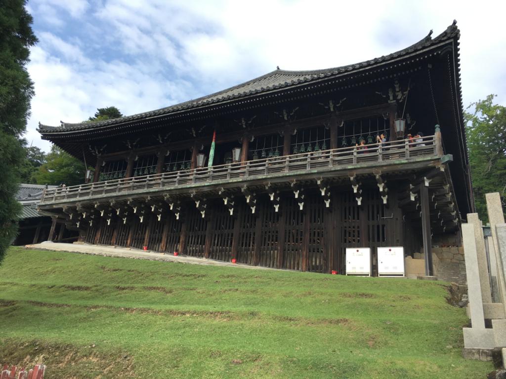 子連れで奈良旅行~(2)二月堂の舞台からの奈良の景色