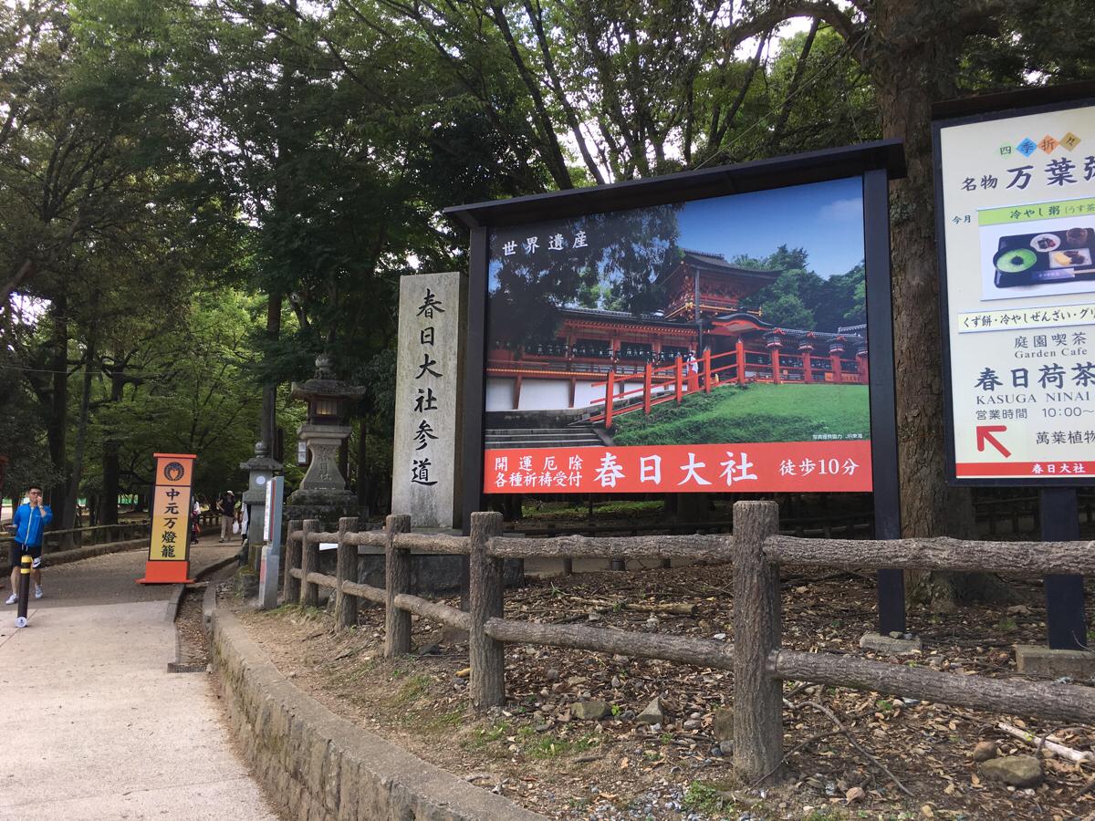 子連れで奈良旅行~(4)「神様のお使い」の鹿を見ながら春日大社