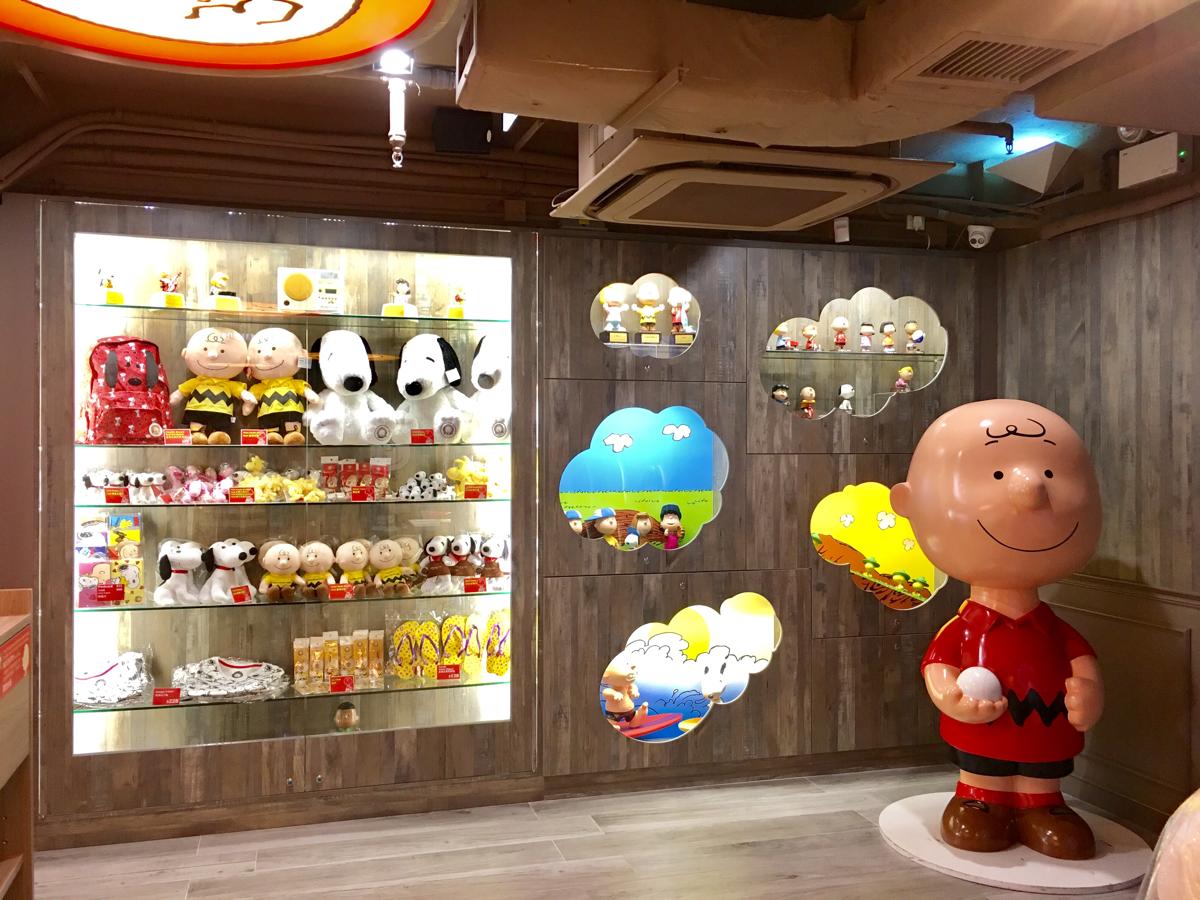 移転した「チャーリーブラウンカフェ@香港尖沙咀」は子連れにはちょっとだけ残念になったけど、可愛さは健在で良かった