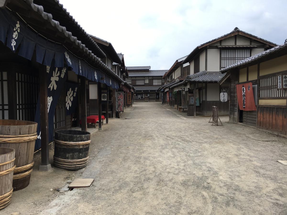 子連れで京都旅行~(1)東映太秦映画村で子供たちが忍者の格好で大はしゃぎ