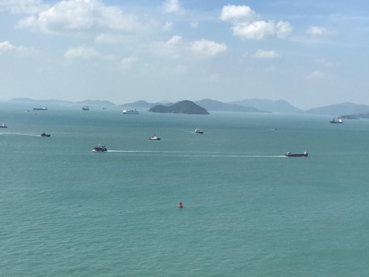 香港の一部の空港バスが世界第3位の斜張橋である「ストーンカッターズ橋(昂船洲大橋)」を本当に渡るのか試してみた