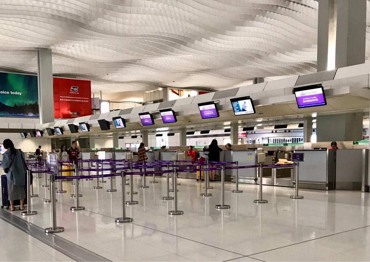 格安航空会社の香港エクスプレスで空港ラウンジのクーポンがもらえた理由はU-Bizの特典だったから