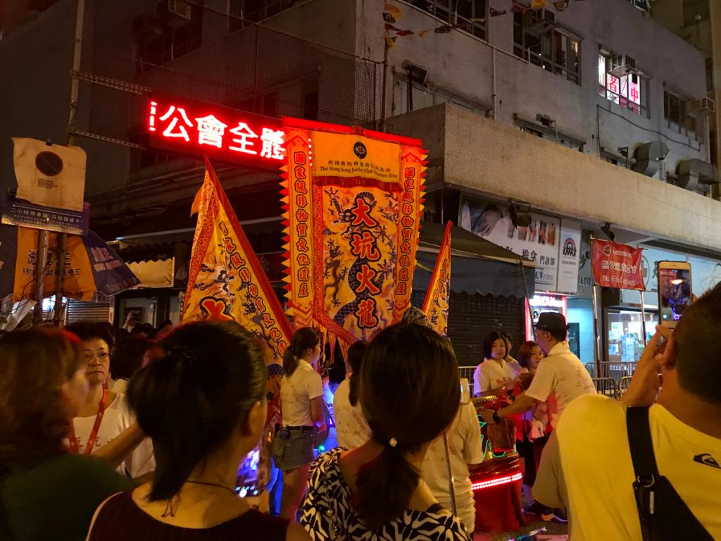 火のついた龍が踊る!?香港の無形文化遺産の「大坑舞火龍(Tai Hang Fire Dragon Dance)」を見学した