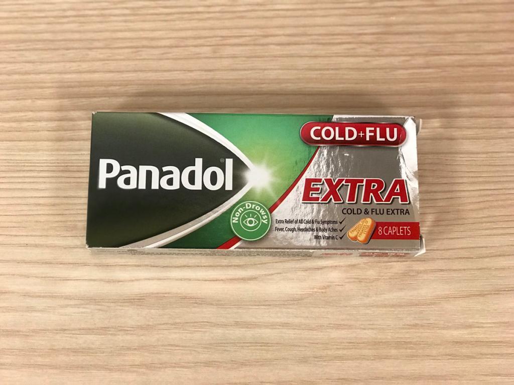 風邪をひいてしまったので、コンビニで強めの風邪薬を買ったらすぐ効いた〜必理痛特強傷風感冒丸(Panadol COLD + FLU EXTRA)