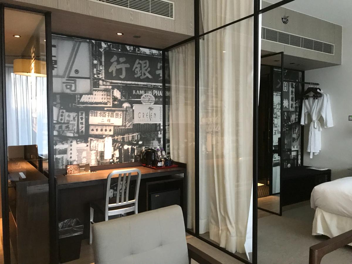 撮影に使われた部屋の真下にあるスイートルームに泊まった〜ドラマ「恋する香港」のロケ地のペンタホテルに宿泊(前編)