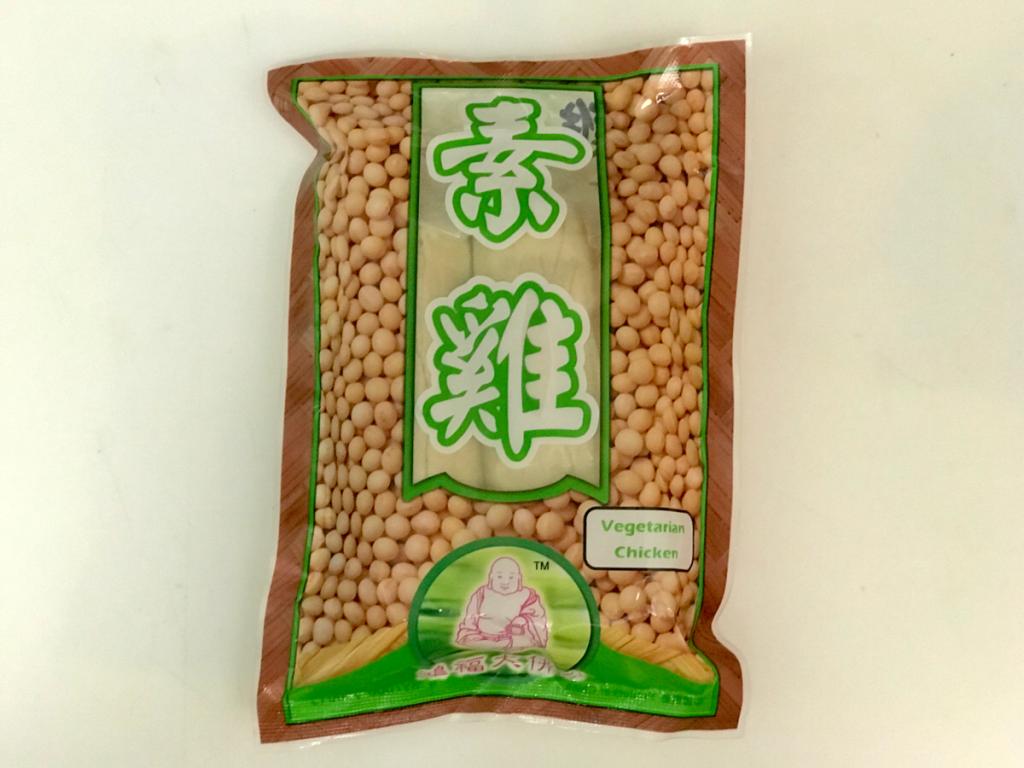 中国で作られた偽物肉!? ベジタリアンチキン(素雞)は「豆腐味のかまぼこ」だった