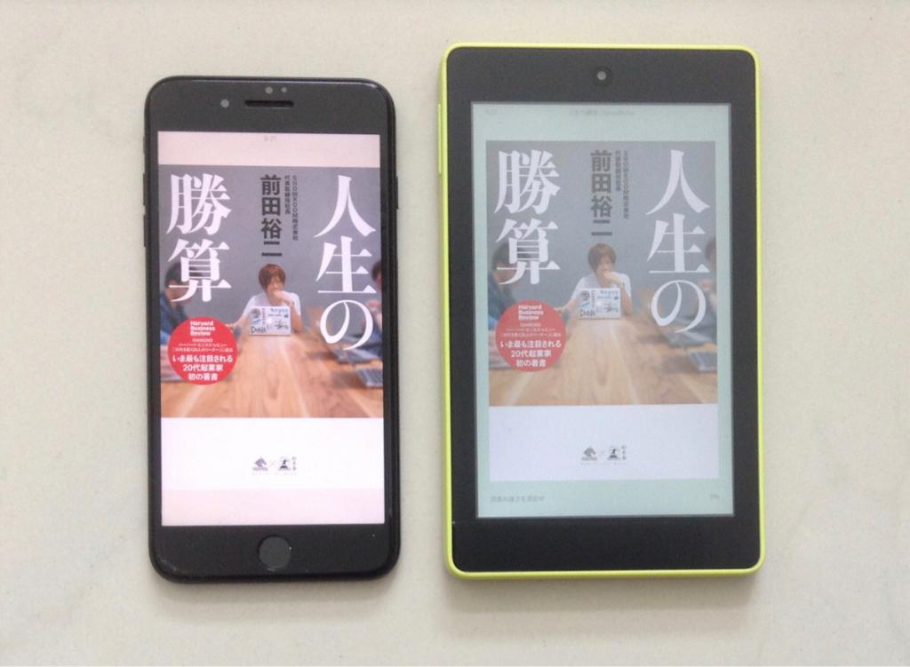 アプリも良いけどやっぱりKindle端末(Kindle Fire HD 6inch)も捨てがたいポイントを4つにまとめてみた