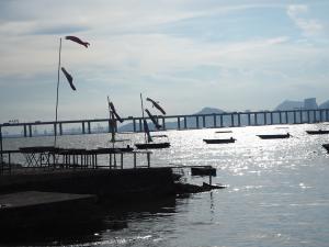 海鮮料理で有名な流浮山(Lau Fau Shan)は、香港と中国を結ぶ深圳灣公路大橋(Shenzhen Bay Bridge)の絶好の撮影スポットだった