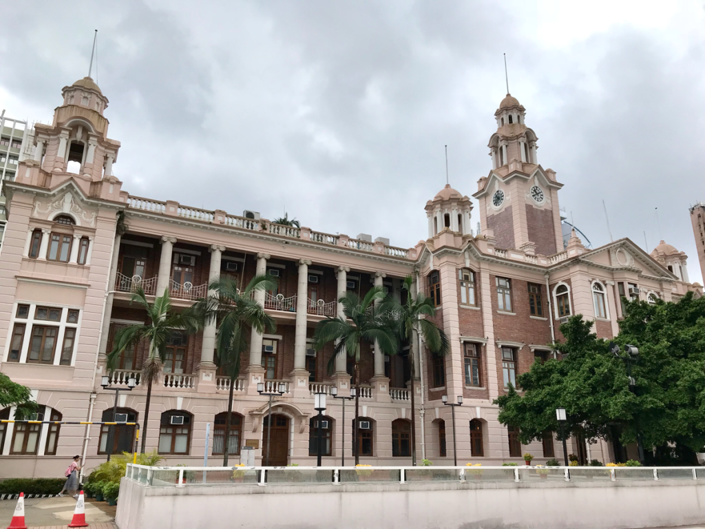 香港大学で一番古い建物である本館(香港大學本部大樓)を見学した〜香港大学にある歴史的な建物を見に行って来た(2)