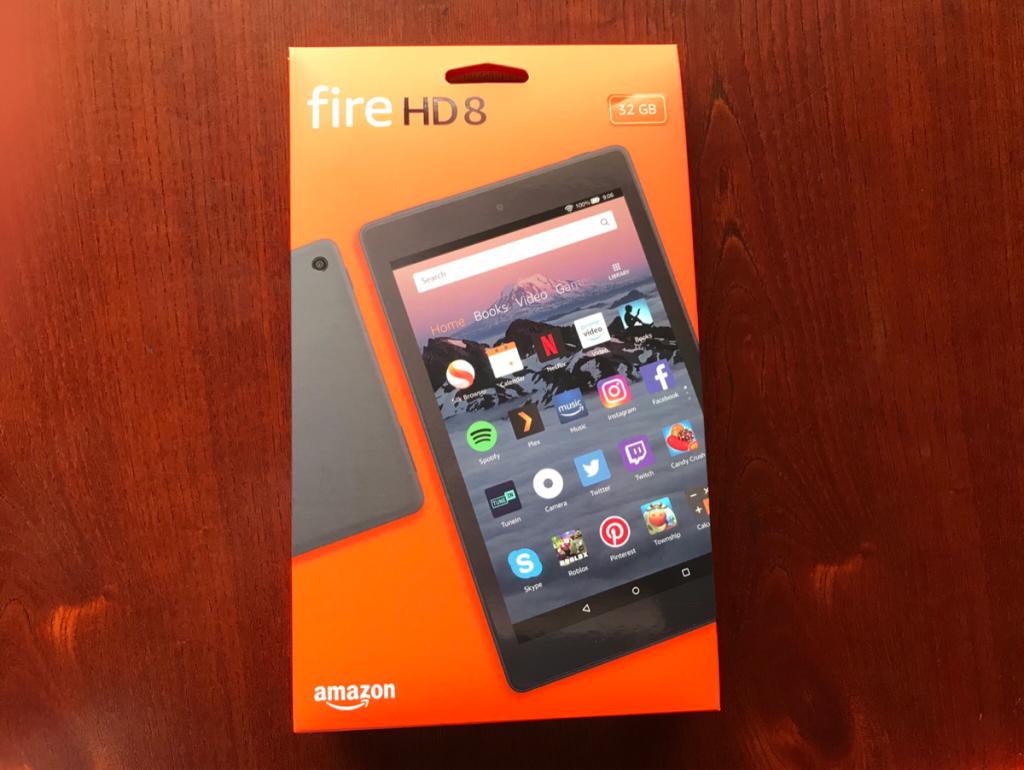 新発売のKindle Fire HD 8 タブレットを使ったら、雑誌やページ数の多い本が格段に読みやすくなった