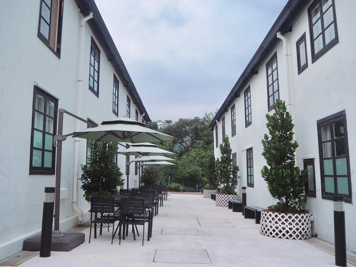 100年以上の歴史のある病院が宿泊施設になった翠雅山房(Heritage Lodge) @美孚で、香港の喧騒から離れてのんびり過ごした