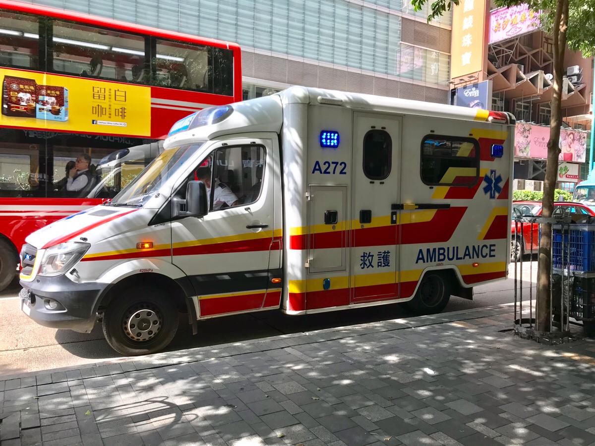 ぎっくり腰で救急車!?~香港の救急車で公立病院に運ばれた時の流れについてまとめてみた(前編)