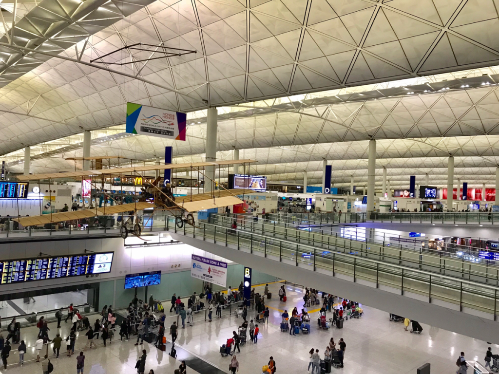 台風YUTUの影響も無く、無事に日本行きの飛行機に乗れて良かった