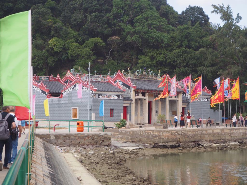 香港で意外と少ない関帝廟や法定古蹟になりたての楊侯古廟を見学した〜旧正月中の大澳をお散歩(1)