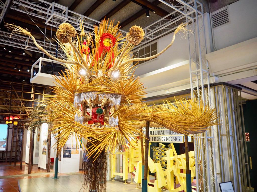 三棟屋博物館@ 荃灣の非物質文化遺産の施設を見て、今年は薄扶林のファイヤードラゴンダンスを見に行きたくなった