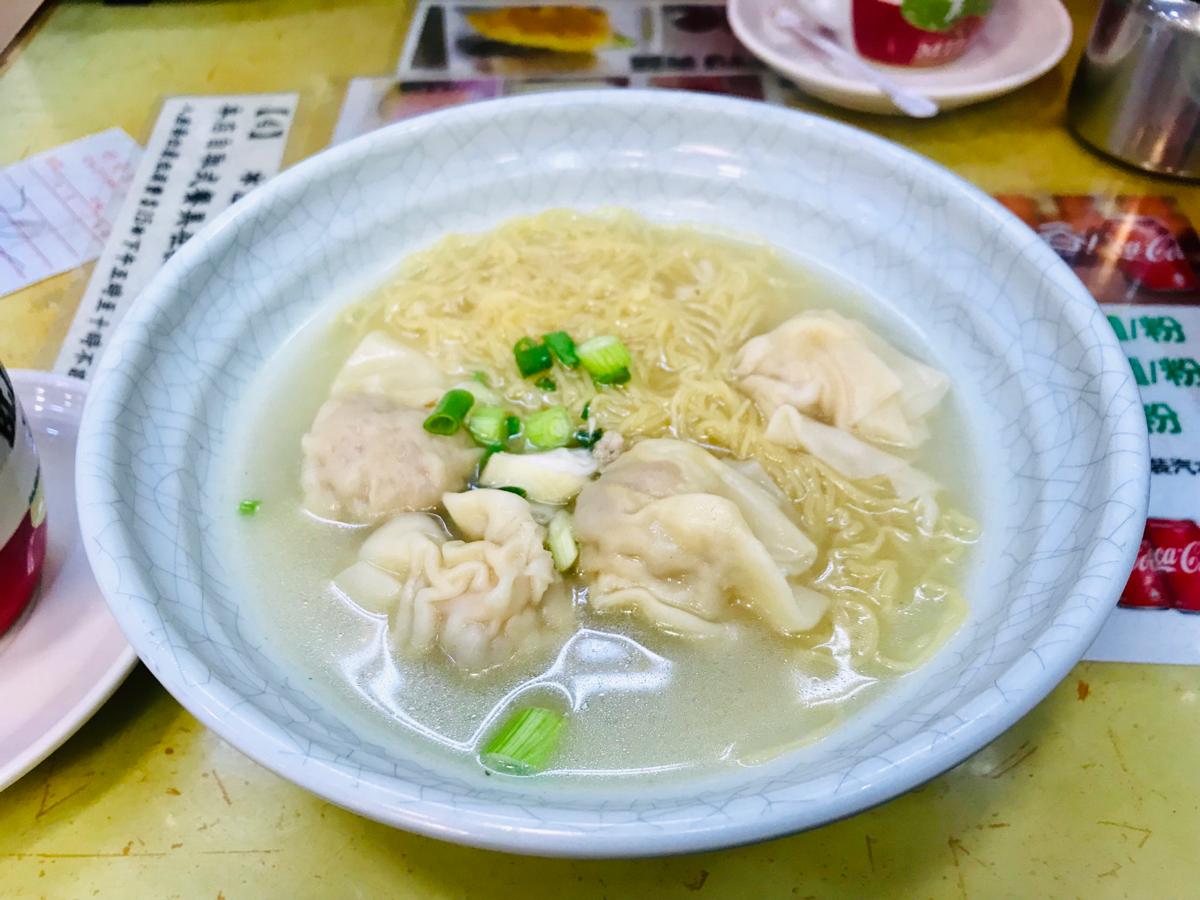 たまには朝から雲呑麵〜好好茶餐廳(Ho Ho Restaurant)@旺角