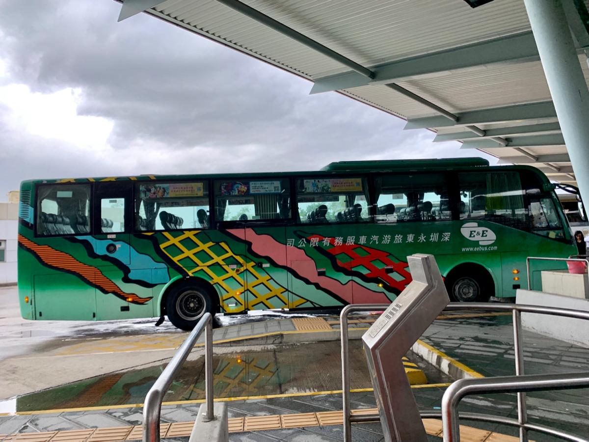 皇崗口岸行きの直通バスを利用して、香港から深圳に渡る流れについてまとめてみた〜深圳一泊旅行(1)
