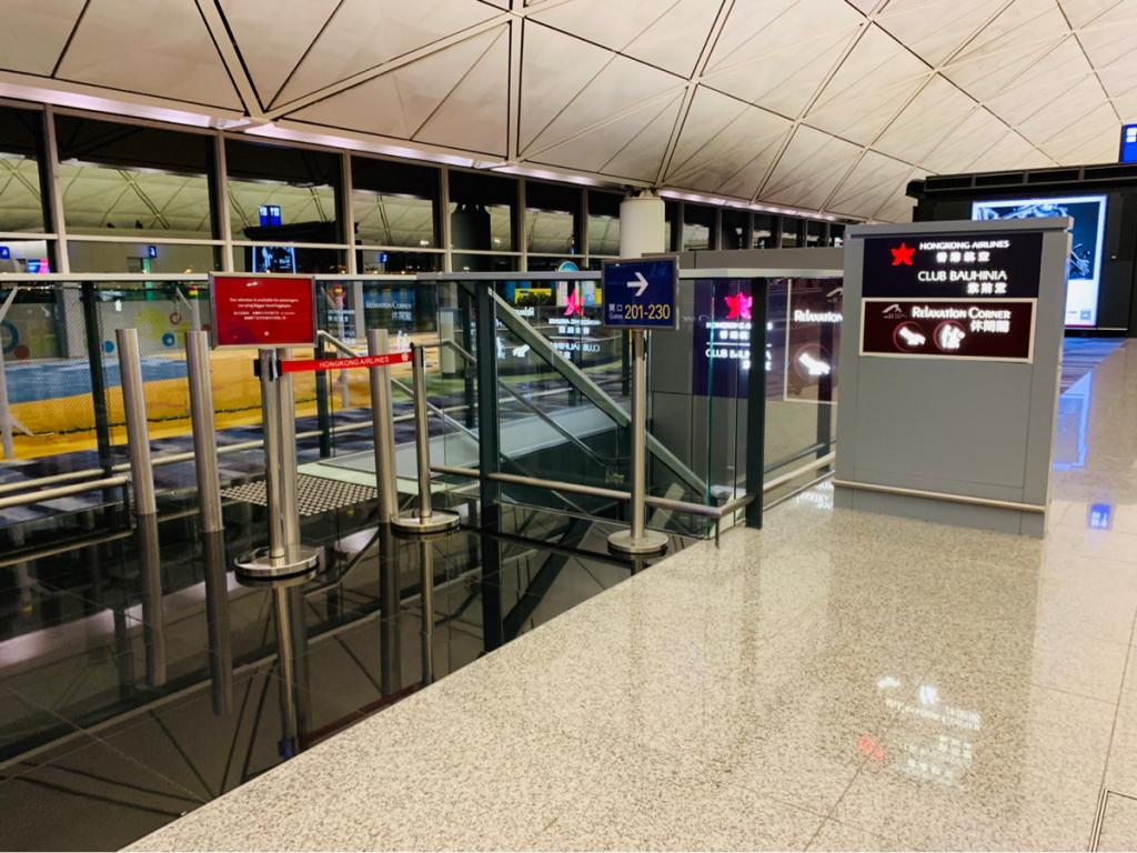 香港エクスプレスU-Biz特典のバウヒニアラウンジの致命的な欠点は「ゲートまで遠い」ことなので、実際にかかる時間を測ってみた