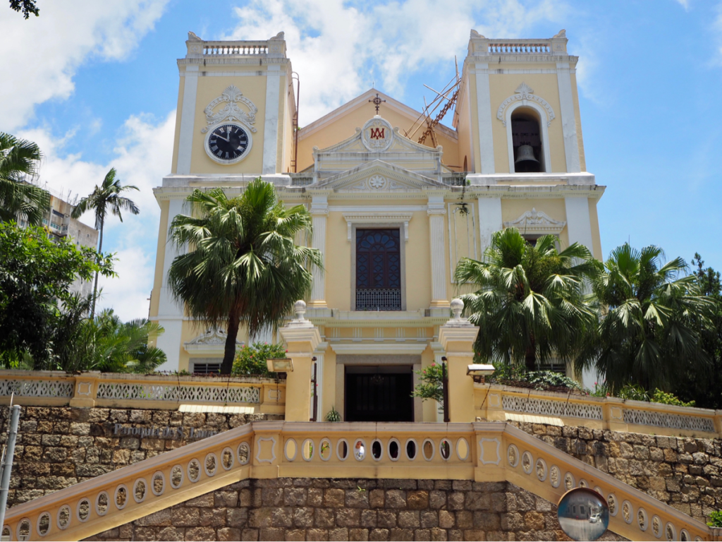 マカオ世界遺産散歩〜(5)聖ローレンス教会