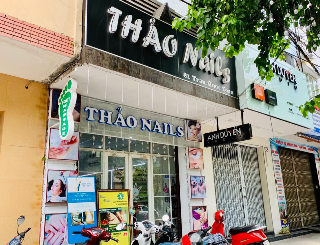 THAO NAILSで手足にネイルしてもらって、ちょっとお姫様気分になった〜子連れ旅行@ベトナムダナン(4)