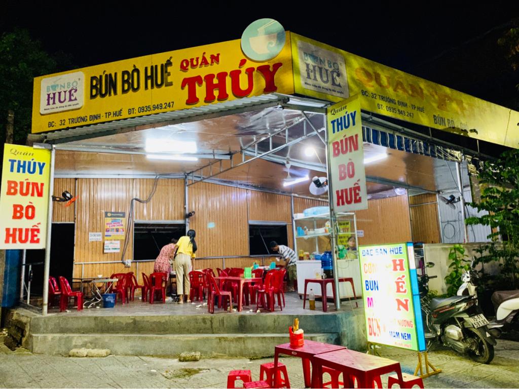 ローカル色の強いTHUY BUN BO HUEで、フエ名物のブン・ボー・フエとコムヘンを食べた〜子連れ旅行@ベトナムフエ(6)