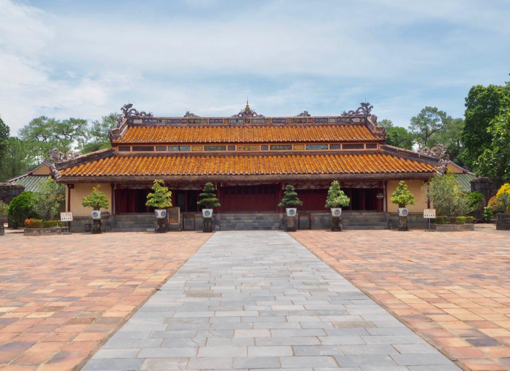 ミンマン帝廟~世界遺産「フエの建造物群」半日観光(5)~子連れ旅行@ベトナムフエ(12)