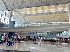 香港国際空港のデモ対策のための入場規制はやっぱり不便だと思った