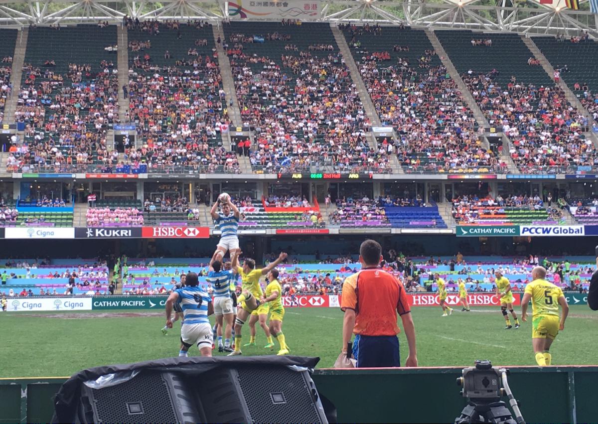 国際試合を彩るイケメンラグビー選手たち〜 香港セブンス試合観戦(4)