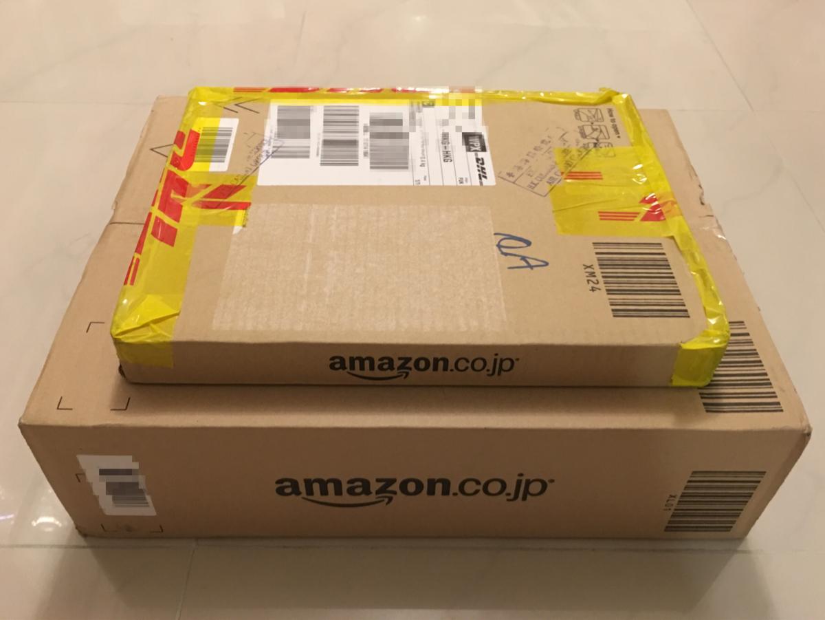 日本のアマゾンから香港への送料が「エコノミーサービス」で更に安くなっていました(2017年4月)