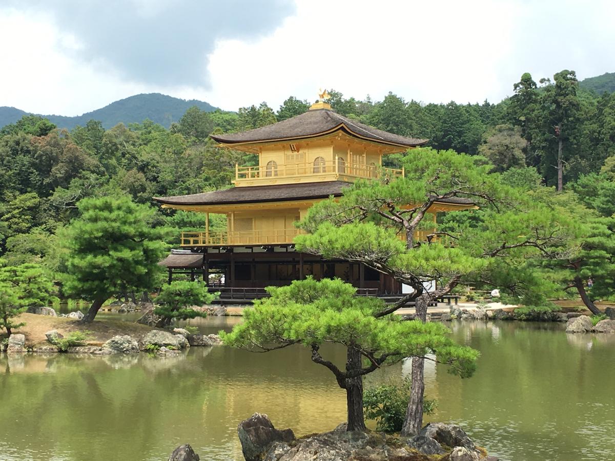 子連れで京都旅行~(3)金箔張り替え直後から30年ぶりの金閣寺は今でも変わらず輝いていた