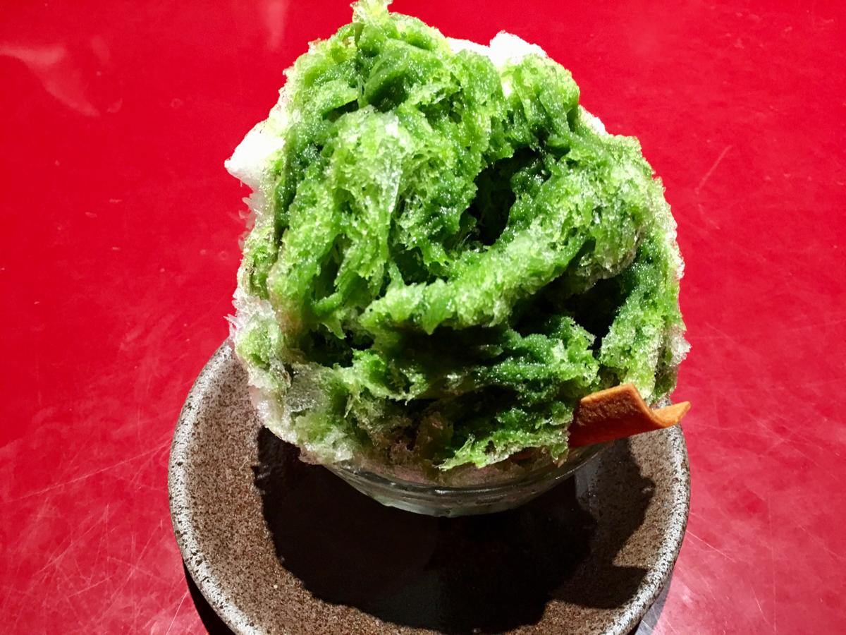 子連れで京都旅行~(7)祇園 日(GION-NITI)でかき氷