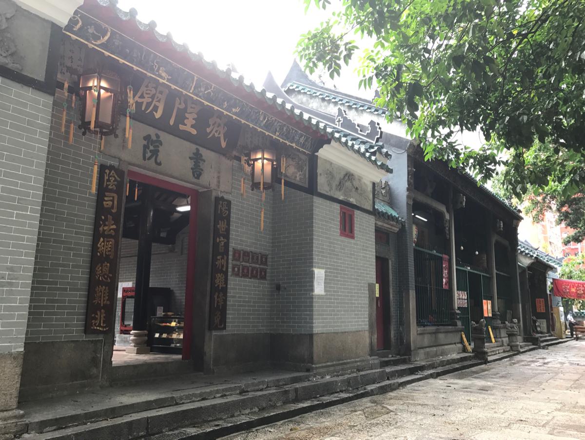 改修された天后廟を見学〜(3)天后廟内のその他の廟を見学 /香港歴史散歩@油麻地