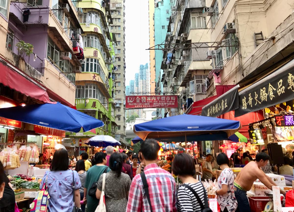 尖沙咀から尖東(East Tsim Sha Tsui)を通ってビクトリア・ハーバーまで歩いた〜 ドラマ「恋する香港」のロケ地を散歩