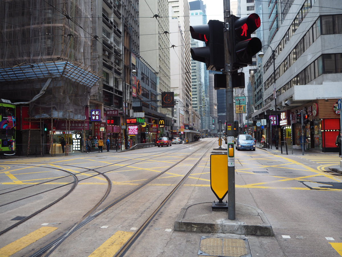 香港島のロケ地巡り〜(1)上環駅からウエスタンマーケットまで歩いた〜ドラマ「恋する香港」のロケ地を散歩
