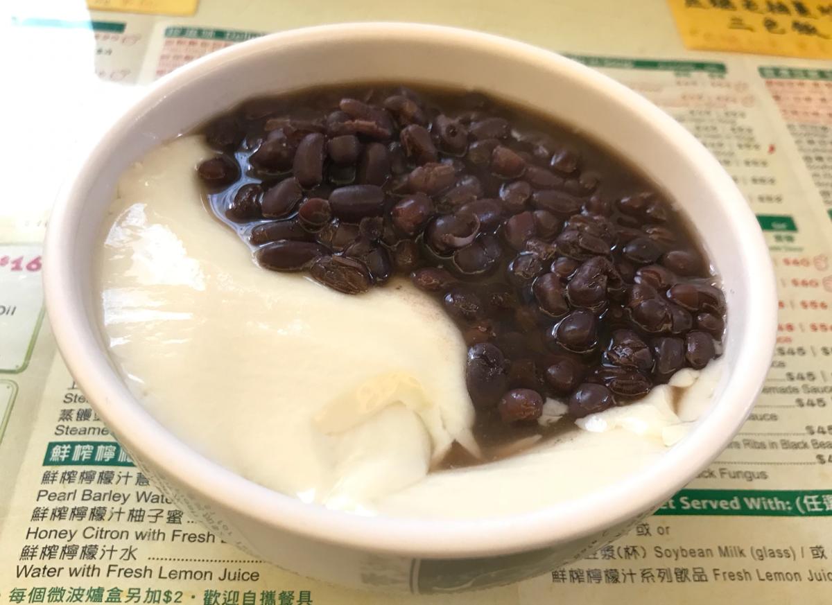ベジタリアンのレストランで豆腐花を食べた〜珍心素食豆漿豆腐花専門店@旺角