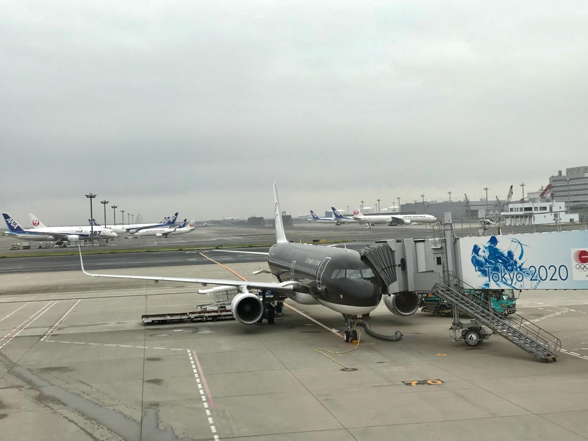 東京と大阪の2都市滞在の時はストップオーバーの方が割安~羽田〜関空間は全日空のコードシェアでスターフライヤーに乗った