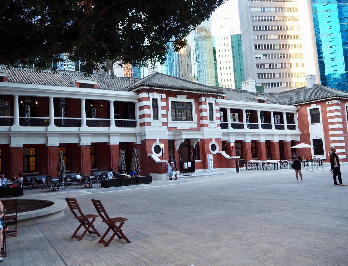 まずは旧香港中央警察(前中區警署)からまわってみた~香港セントラルにある旧中央警察がアート施設になった大館(Tai Kwun)を訪問(4)