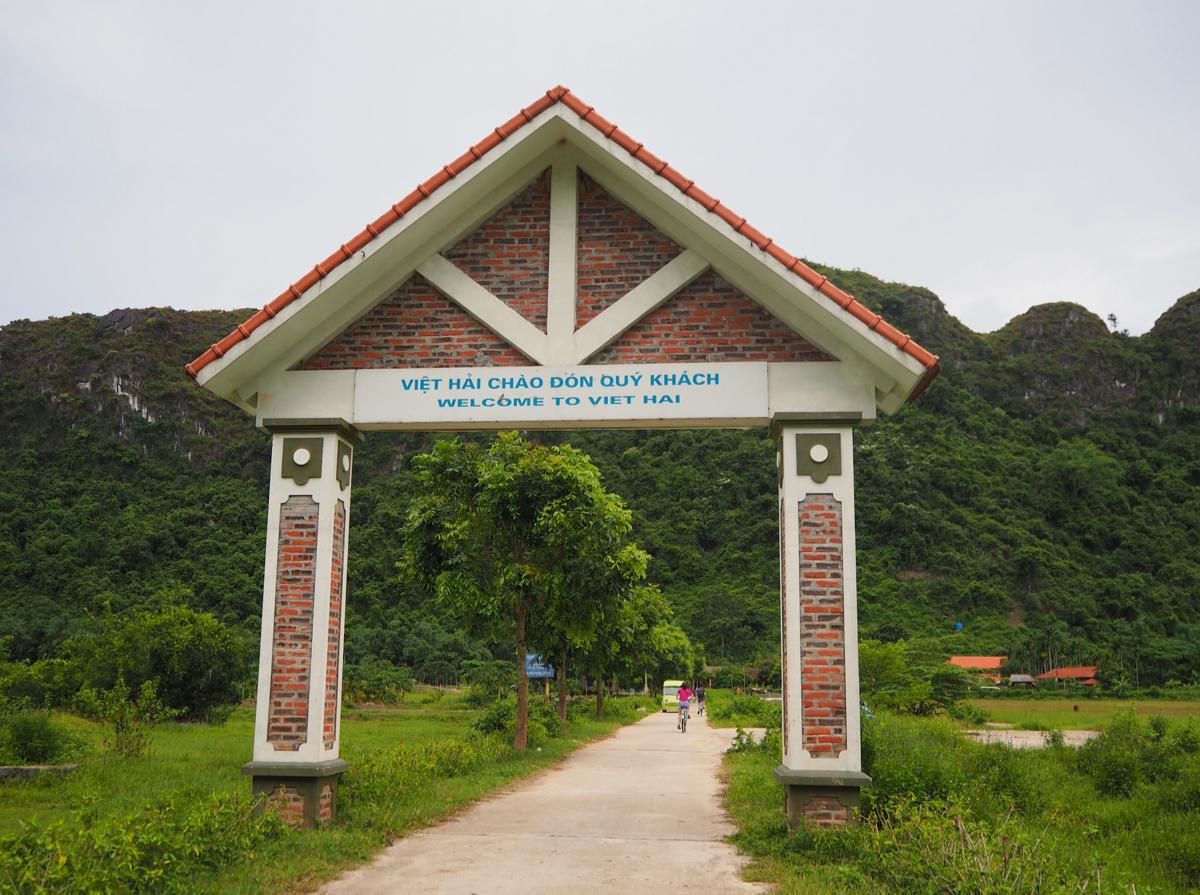 Viet Hai Villageまでサイクリング〜カットバ島の風景は香港の田舎にちょっと似ていた〜子連れでハロン湾(12)