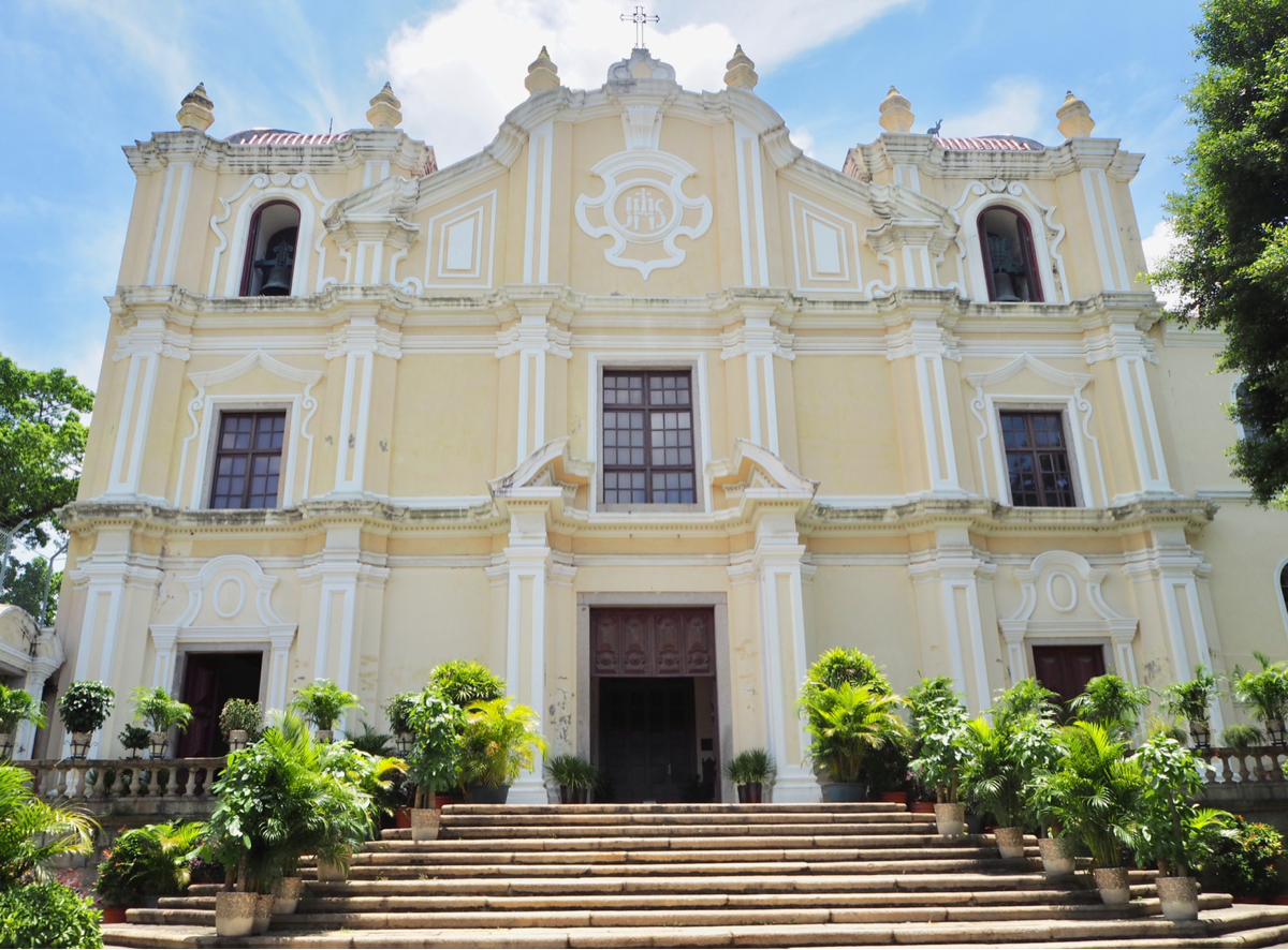 マカオ世界遺産散歩〜(7)聖ヨセフ修道院及び聖堂で、フランシスコ・ザビエルの聖骨を見学した