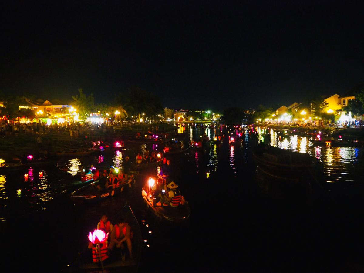 ホイアンの夜のお散歩~子連れ旅行@ベトナムホイアン(1)